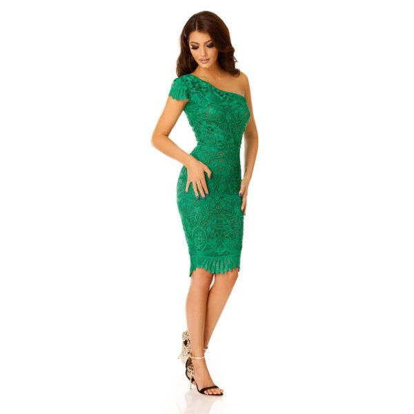 Rochie Sofia Verde - Rochie de ocazie eleganta - TTBoutique-3