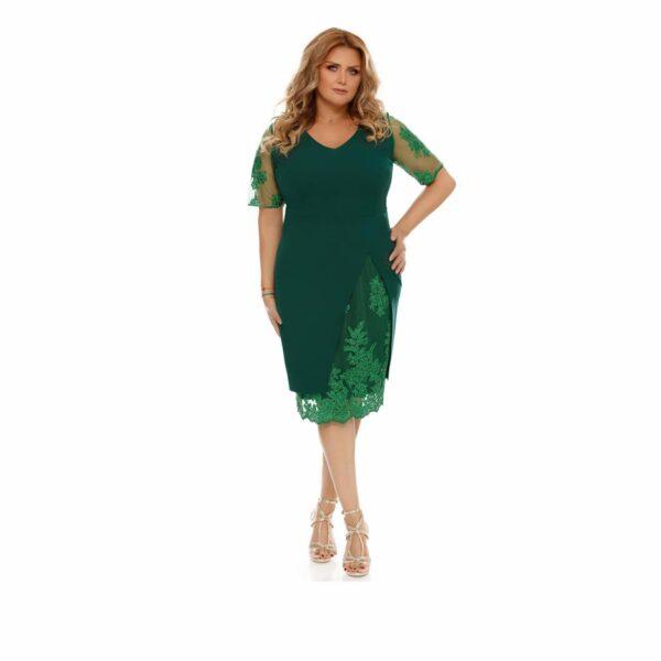Rochie Plus Size Felicia Verde
