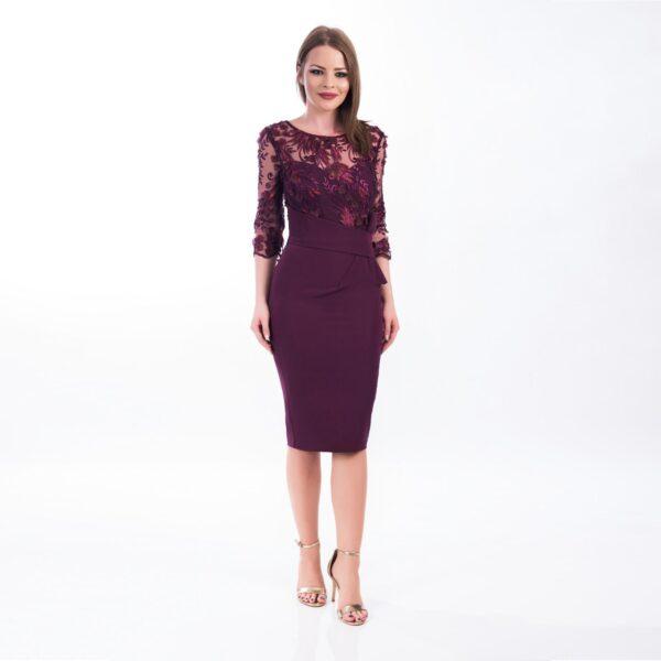 Rochie conica Violet