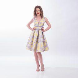 Rochie clos multicolora